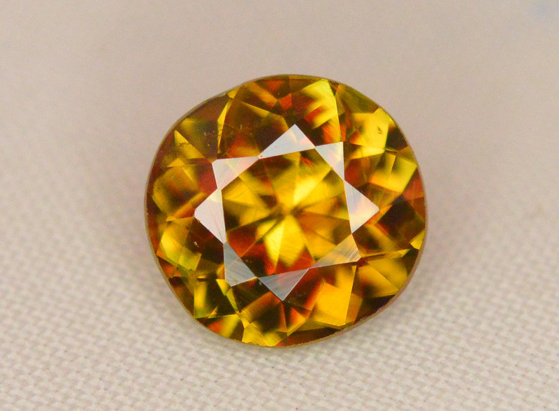 Natural 1.20 Carat Sphene With Amazing Spark