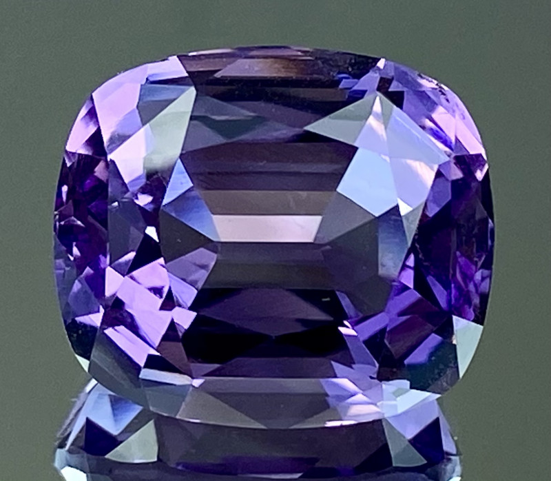 22.41Ct Amethyst Excellent Amazing Cut Top Quality Gemstone.ATF 53