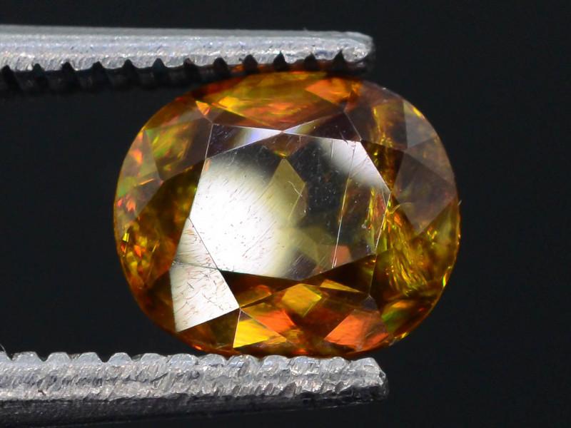 Rare AAA Astonishing Fire 1.15 ct Chrome Sphene~TB