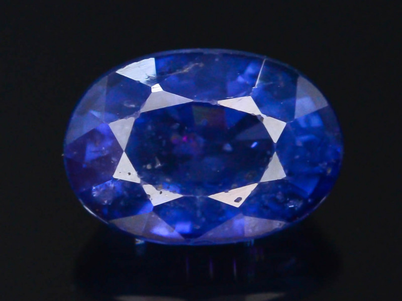 Royal Blue 1.30 Ct Natural Ceylon Sapphire ~Sirilanka !GA1