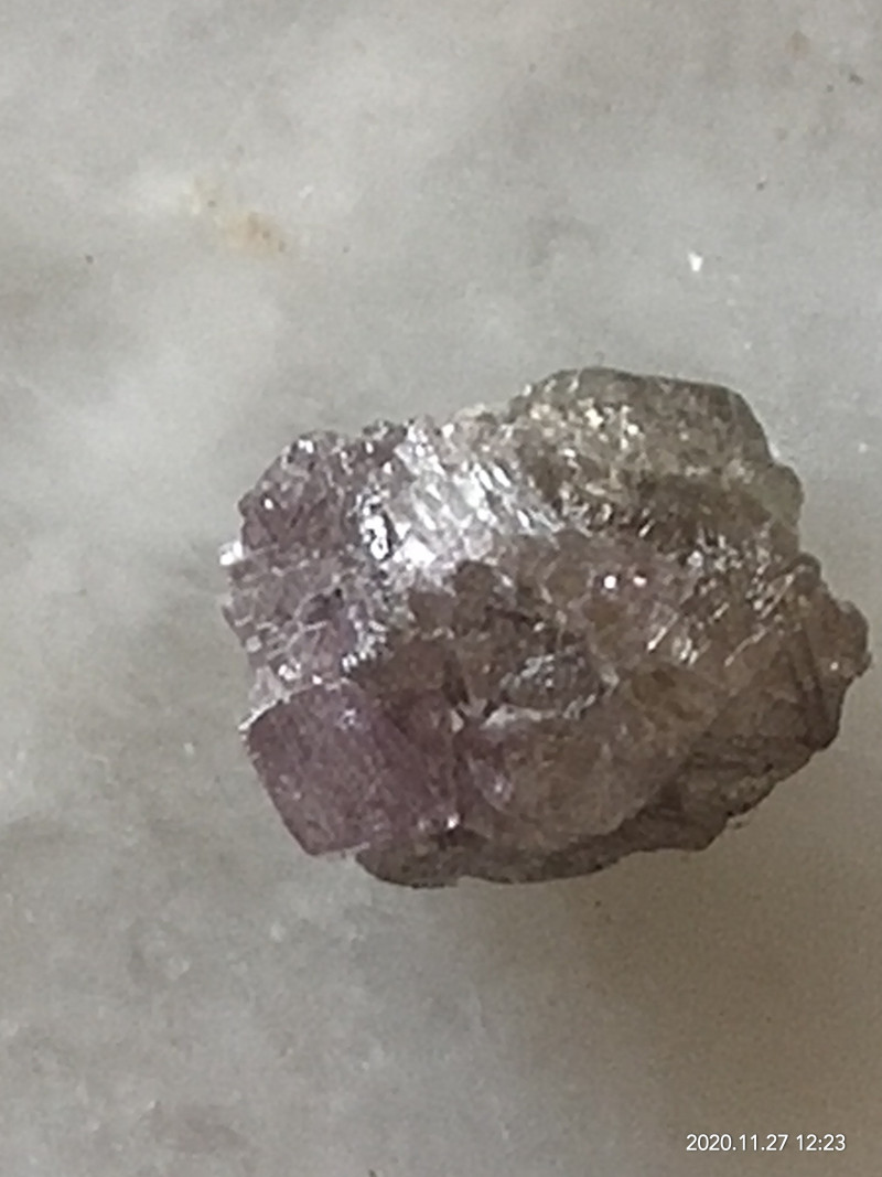 NATURAL -ARGYLE PINKPURPLE DIAMOND ROUGH-2.30CTW SIZE, VERY RAREST