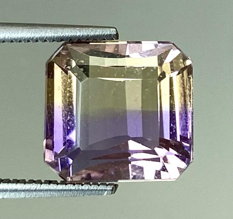 4.22Ct Natural Ametrine Bolivian Top Quality Gemstone. AMB 01