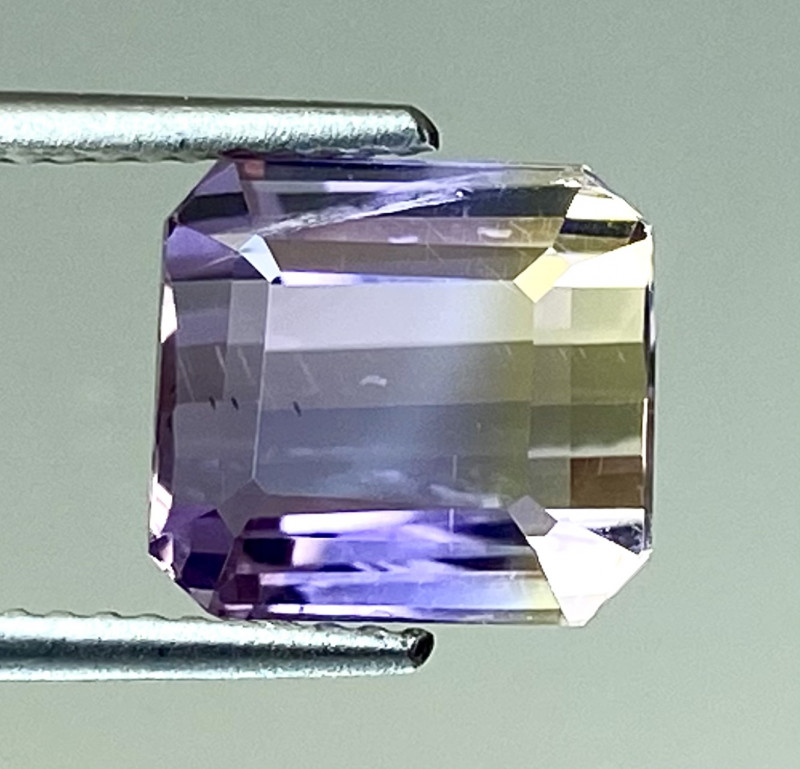 4.22Ct Natural Ametrine Bolivian Top Quality Gemstone. AMB 05