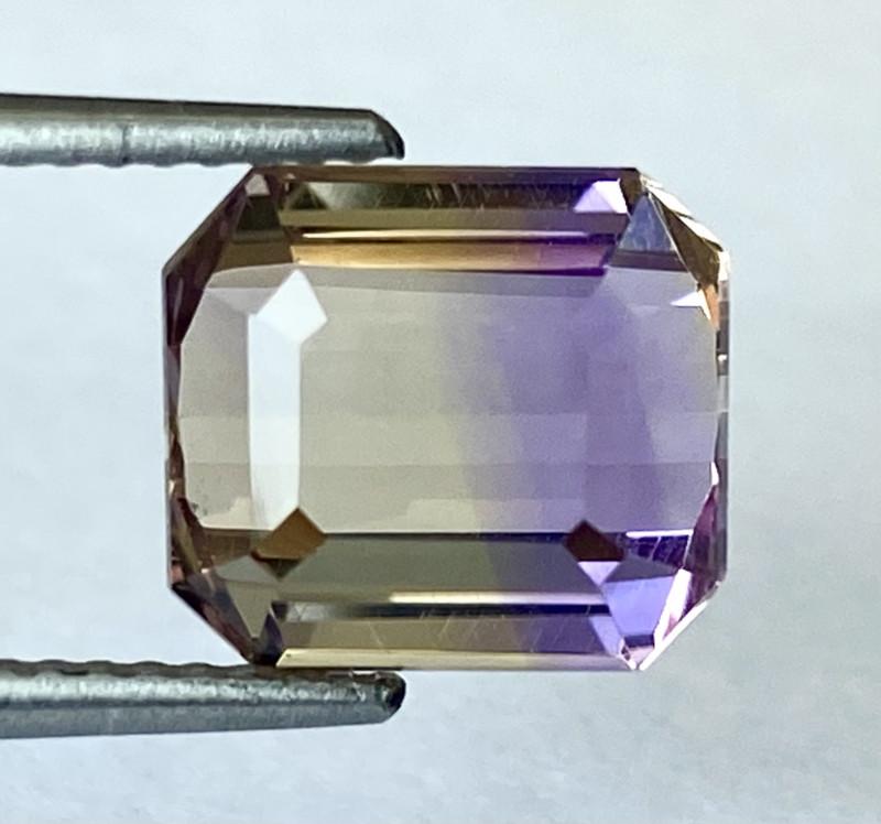 4.24Ct Natural Ametrine Bolivian Top Quality Gemstone. AMB 09