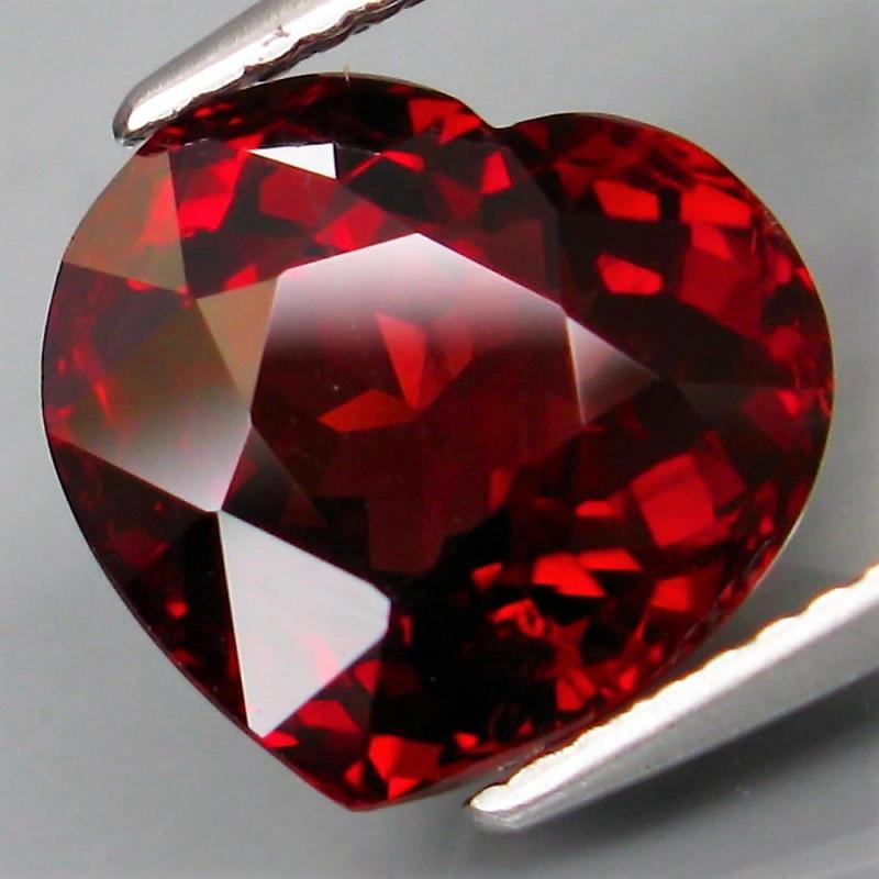 6.13  Ct. Natural Earth Mined Top Red Rhodolite Garnet Africa – IGE Certifi