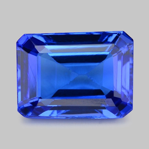 3.12 Cts Tanzanite Faceted Gemstone Gorgeous Cut ~ TN19