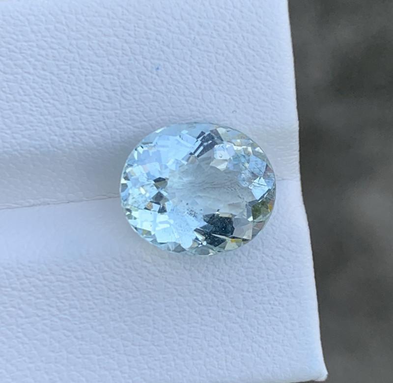 Natural Aquamarine 4.45 Cts Good Quality Gemstone