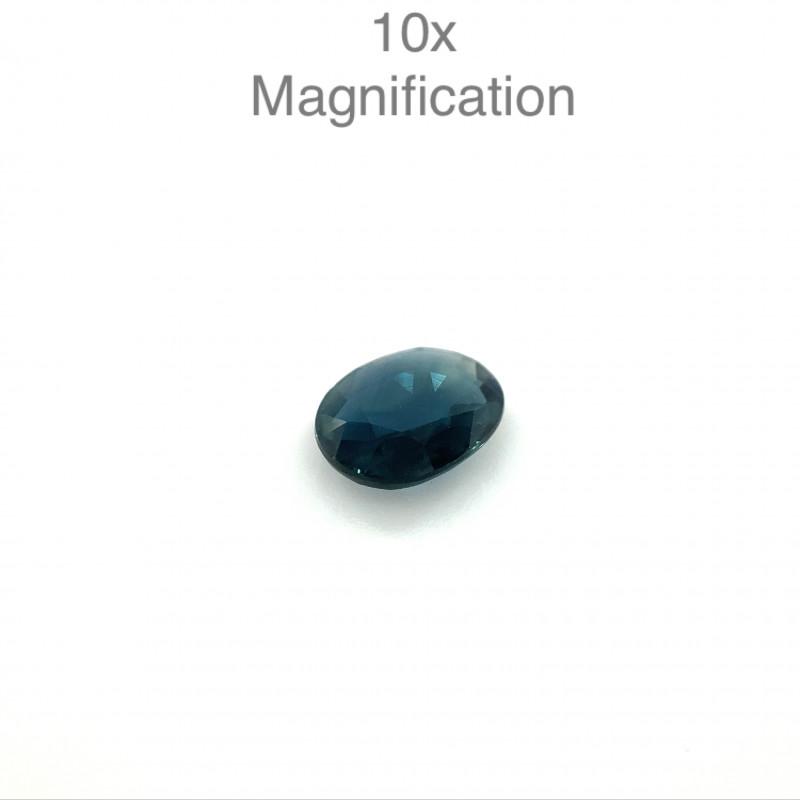 1.12ct Oval Blue Sapphire Unheated