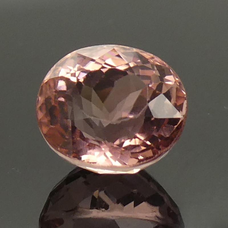 2.83ct Oval Pink Tourmaline