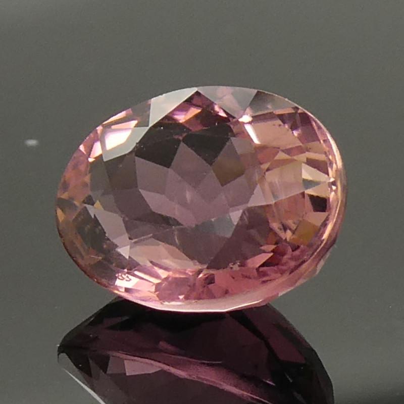 3.12ct Oval Pink Tourmaline