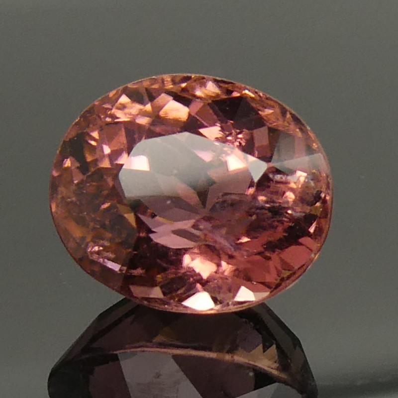 2.86ct Oval Pink Tourmaline