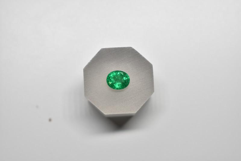 0.84 Carats Intense Green AFGHAN (Panjshir) Emerald!