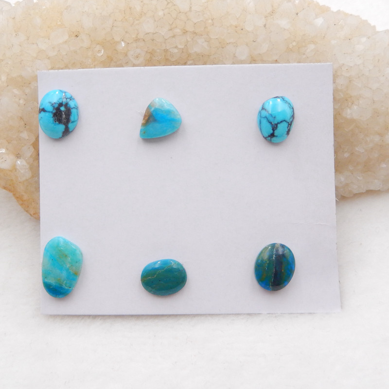 10.5cts Lucky Turquoise ,Handmade Gemstone ,Turquoise Cabochons ,Lucky Ston