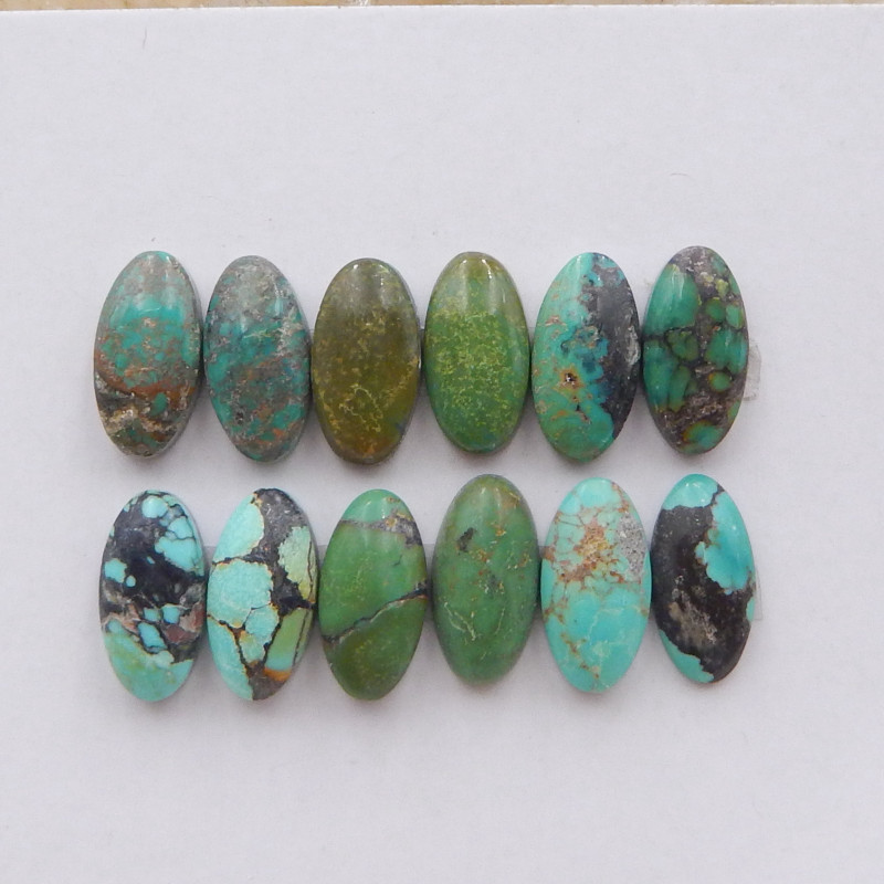 21.5cts Lucky Turquoise ,Handmade Gemstone ,Turquoise Cabochons ,Lucky Ston