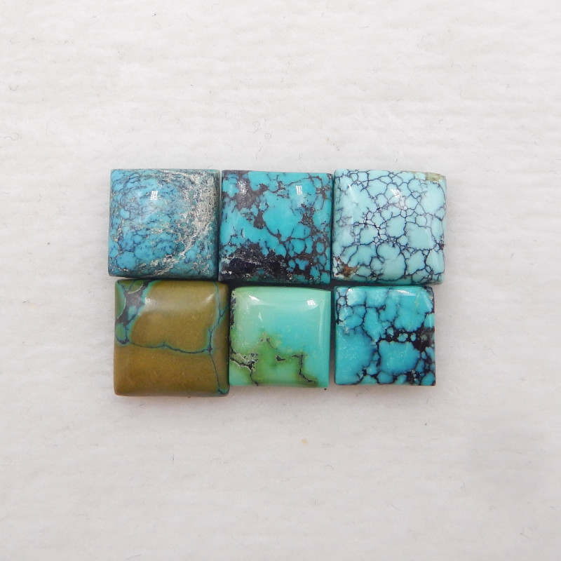 21cts Lucky Turquoise ,Handmade Gemstone ,Turquoise Cabochons ,Lucky Stone