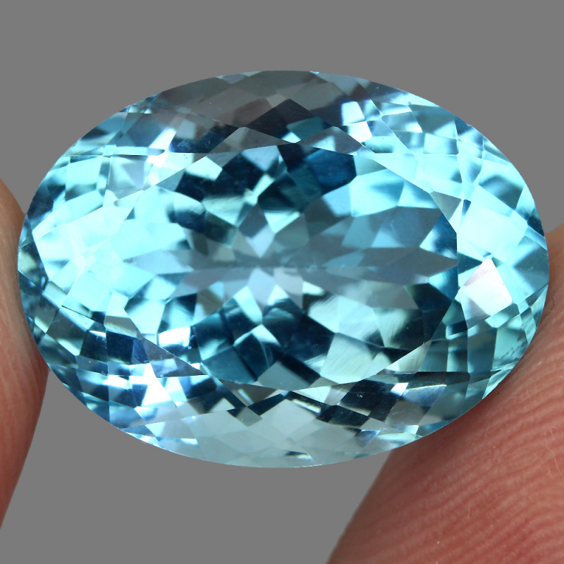 24.04 ct. 100% Natural Earth Mined Top Quality Blue Topaz Brazil