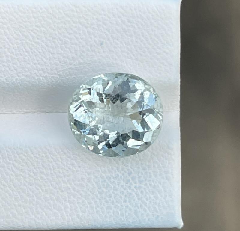 Natural Aquamarine 5.85 Cts Good Quality Gemstone