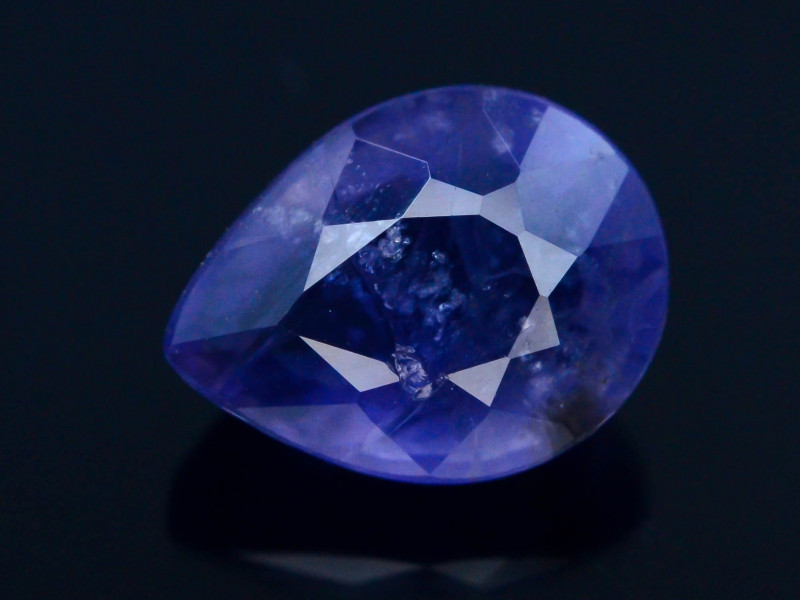 Top Quality 2.05 ct Royal Blue Natural Iolite