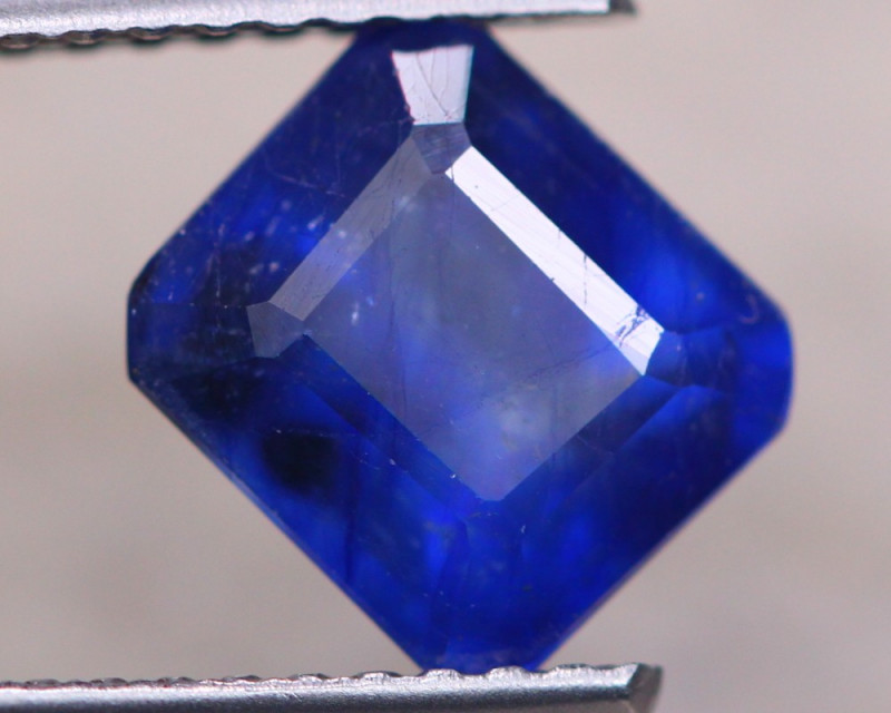 2.60ct Ceylon Blue Sapphire Cushion Cut Lot D582