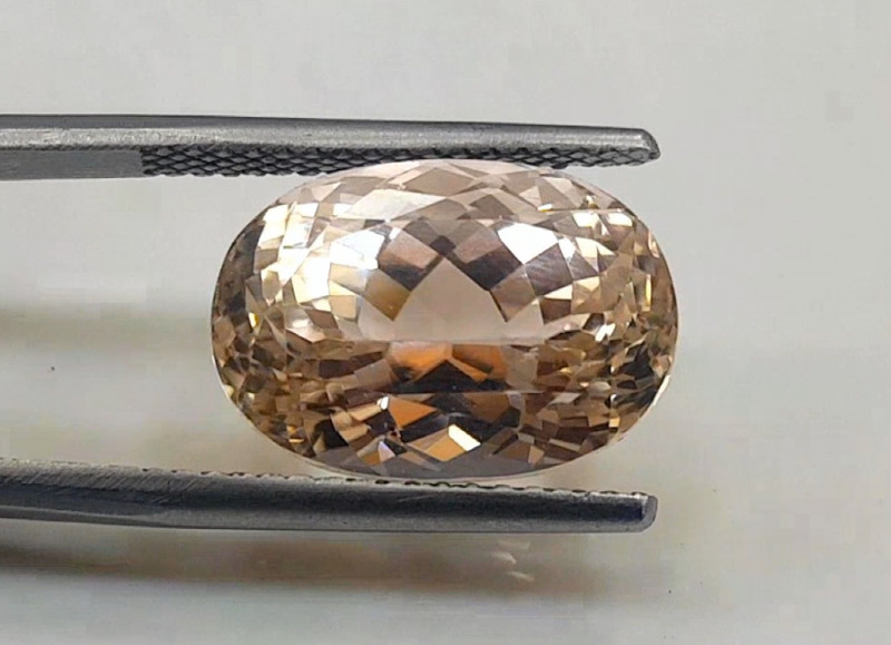 NR Auction , 15.80 cts natural Peach Kunzite Gemstone