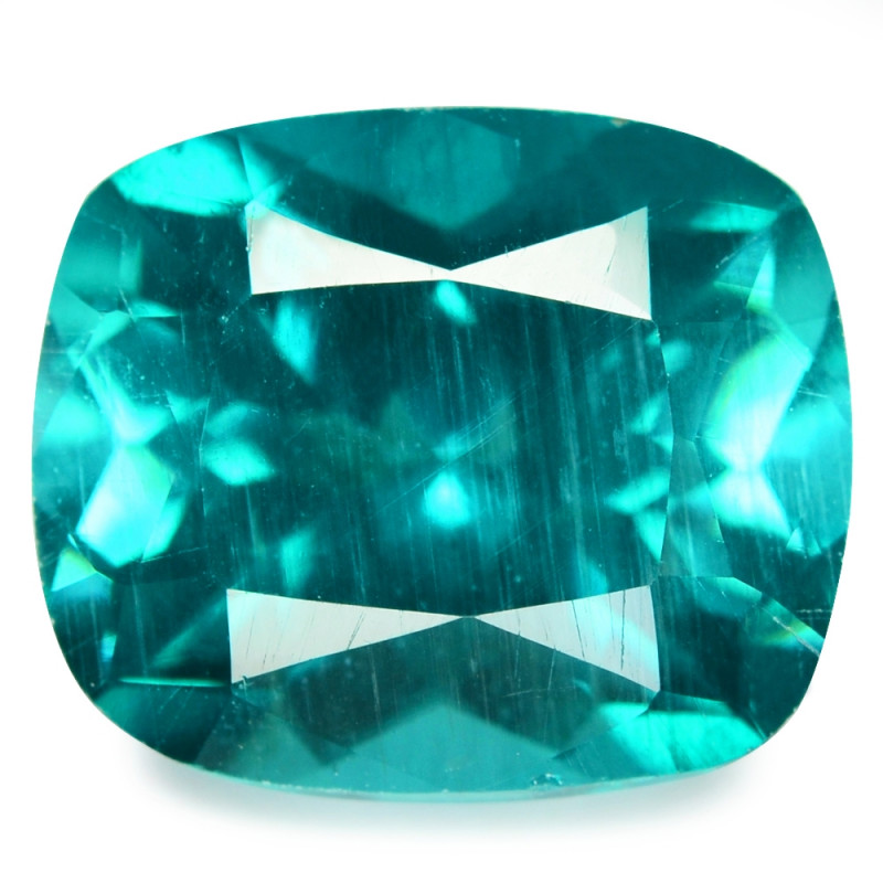 *No Reserve*Apatite 4.12 Cts Un Heated Natural Greenish Blue Loose Gemstone