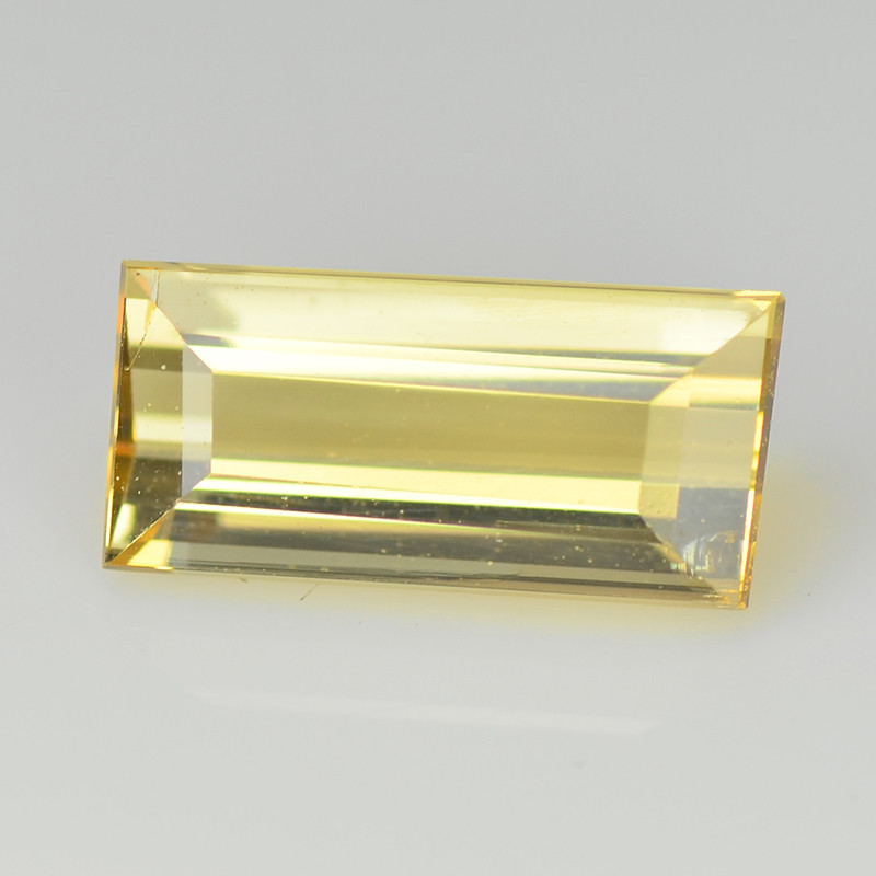 Tourmaline 0.71 Cts Bellini Yellow Step cut BGC999