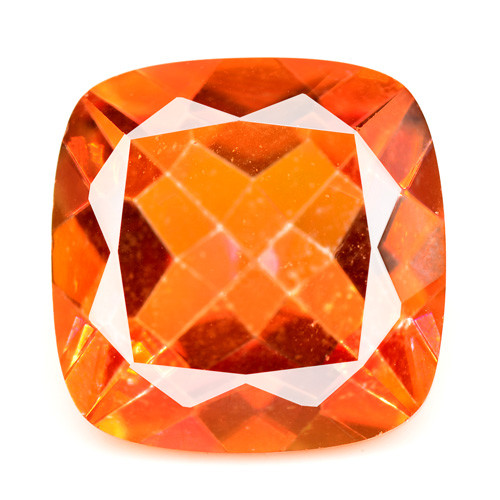 *No Reserve* Mystic Quartz 10.65 Cts Fancy Orange Red Natural Gemstone