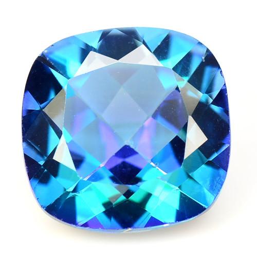 Azotic Topaz 7.36 Cts Rare Fancy Blue Color Natural