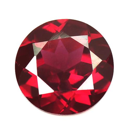 *No Reserve* Rhodolite Garnet 3.09 Cts Unheated Natural Pinkish Red Gemston