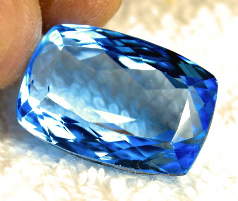 48.25 Carat VVS Blue Brazilian Topaz - Gorgeous