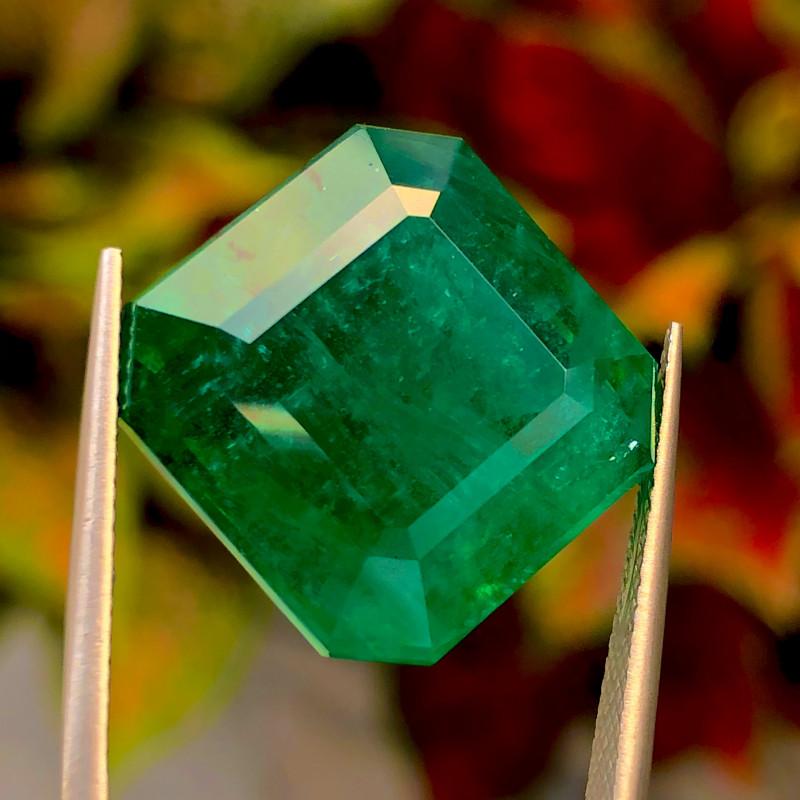 29.07ct  Vivid Green  Emerald 100% natural Gemstone