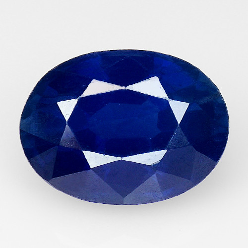 1.53 Ct Natural Blue Sapphire Good Quality  Gemstone SH1