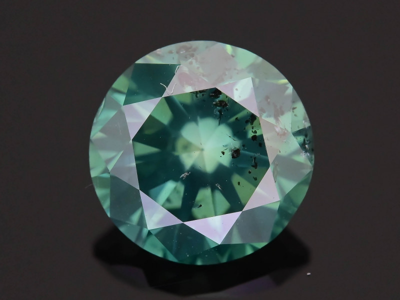 Green Diamond 1.53 ct Top Grade Brilliance SKU-25