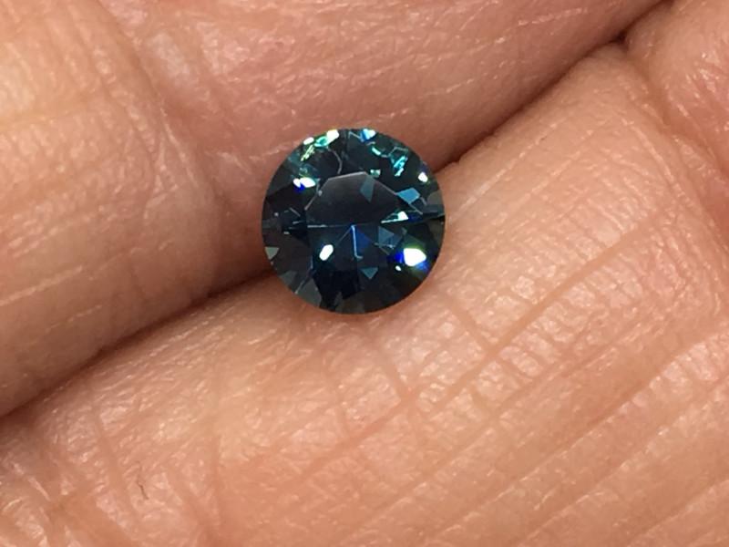 ⭐️⭐️SALE ! .44 Carat VVS Blue Sapphire Master Cut to Perfection Sri Lanka