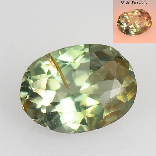 *No Reserve* Alexandrite 0.21 Cts Color Change Green To Orange Natural Gems