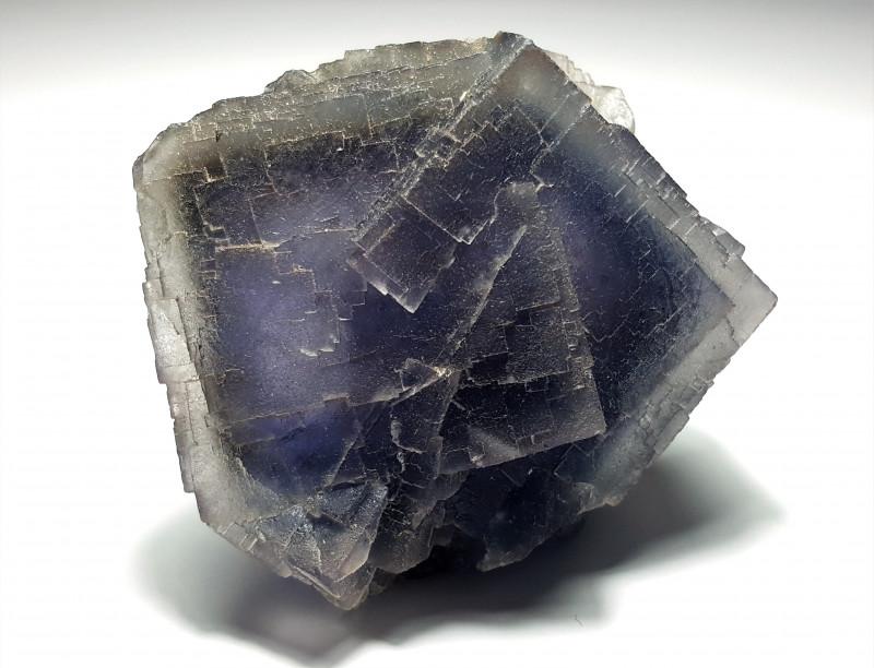 Stunning Natural Bicolor Damage free Phantom Fluorite 893Cts-P