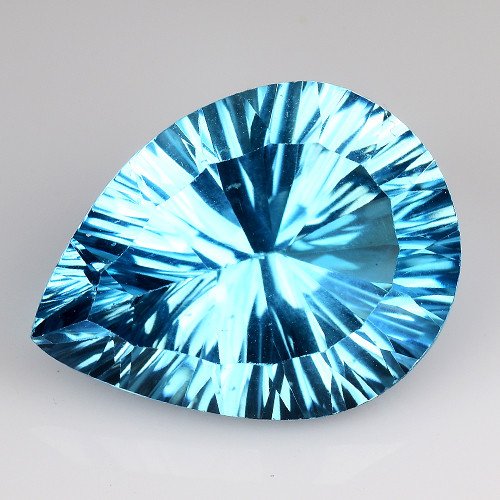 11.95 CT BLUE TOPAZ AWESOME COLOR AND CUT GEMSTONE TP1
