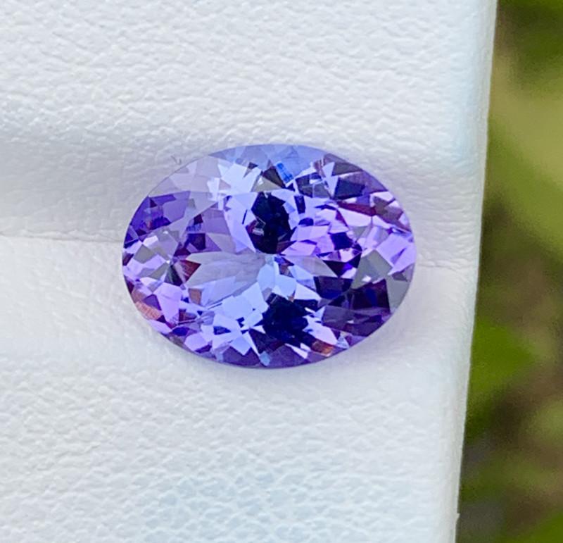 Natural Tanzanite 3.27 Cts Top Grade  Faceted Gemstone