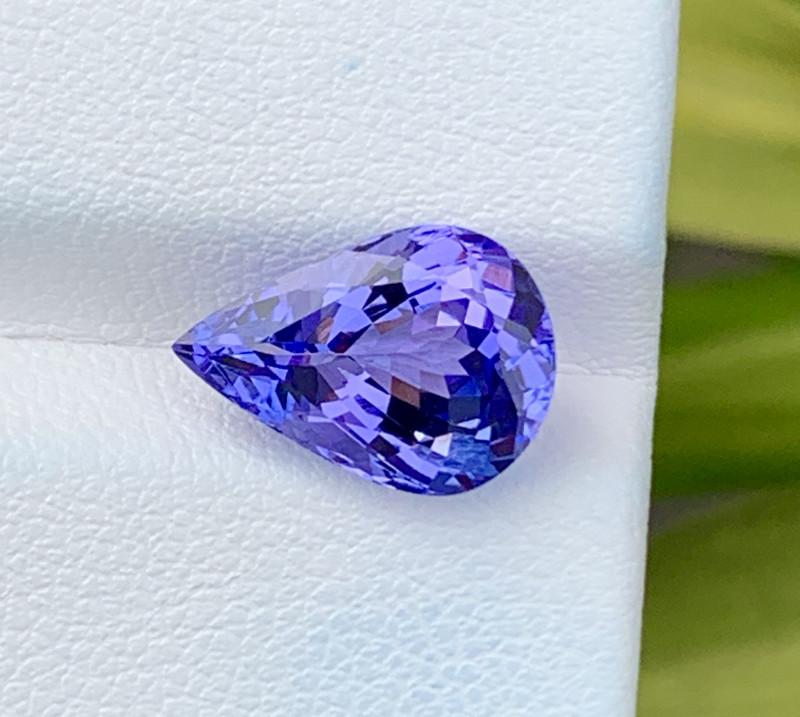 Natural Tanzanite 4.27 Cts Top Grade  Faceted Gemstone
