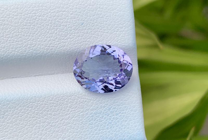 Natural Tanzanite 4.34 Cts Top Grade  Faceted Gemstone