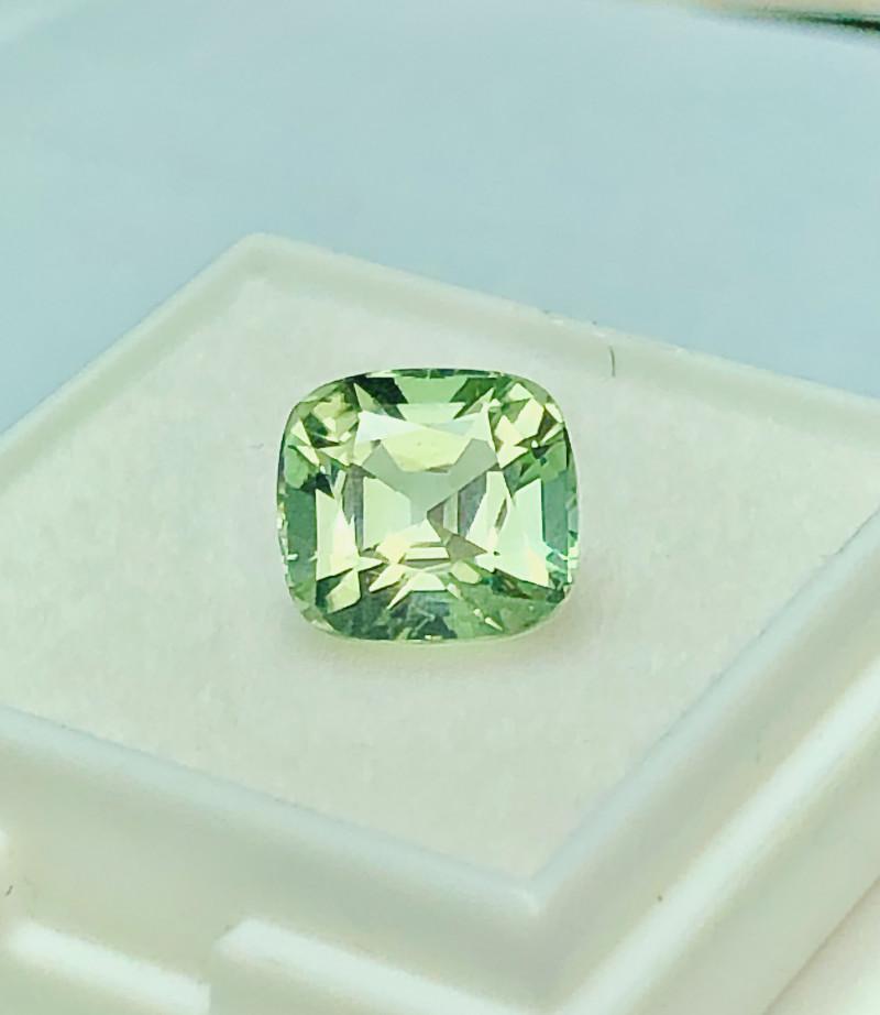 Mint Green Tourmaline Loose Gemstone