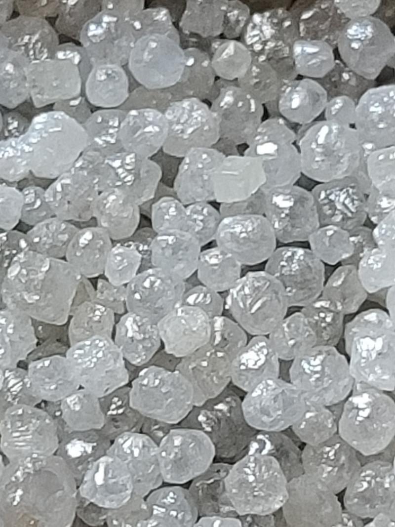 Natural  super whiteaustralian  rawdiamond round  shape beautifull  collect