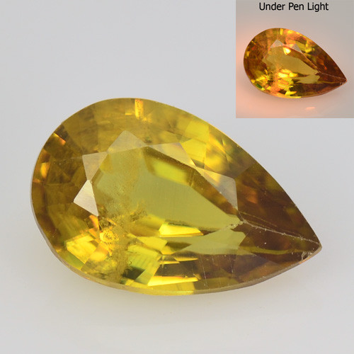 SPHENE 1.61 Cts EXCELLENT COLOR CHANGE NATURAL