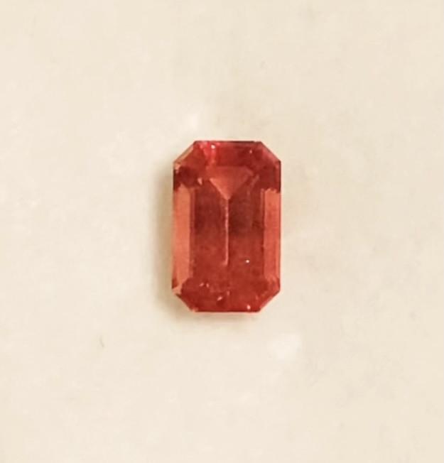 Pretty Silky Orangey Red Sunstone - Oregon