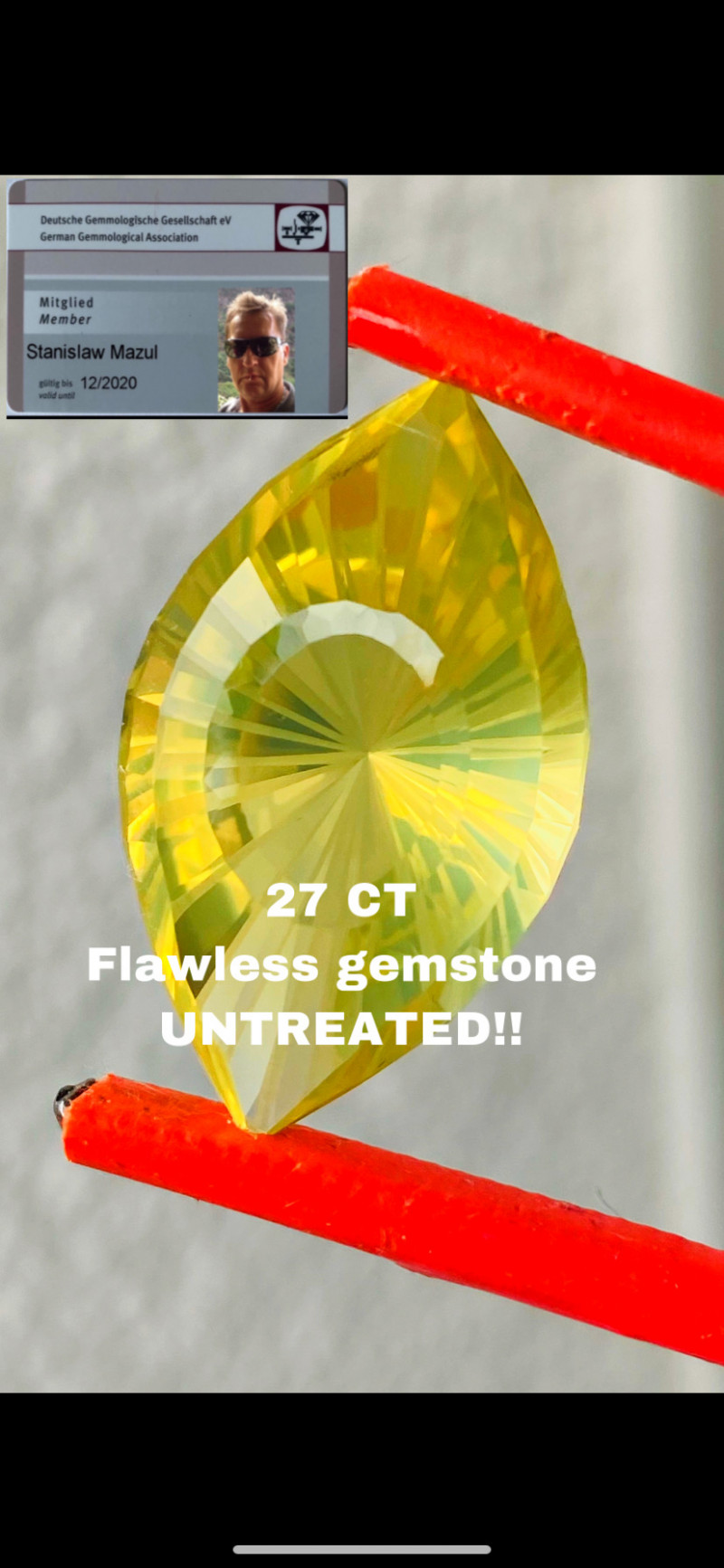 27CT - CITRINE BRASIL- I DISCONNECT MY COLLECTION.  AFTER 36 YEARS!
