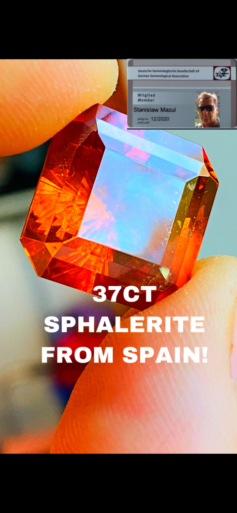 37.37SPHALERITE  FROM SPAIN - I DISCONNECT MY COLLECTION.  AFTER 36 YEARS!