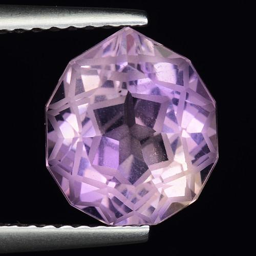 3.25 Cts Bolivian Ametrine Stunning Luster & Cut Gemstone  AF20