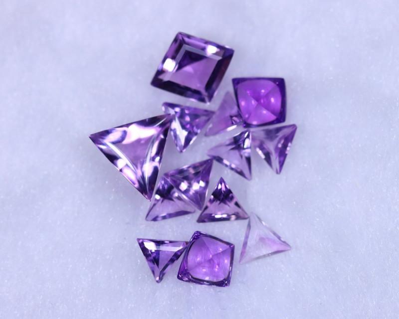 Designer Cut 8.01cts Natural Purple Amethyst Lots / MA1144