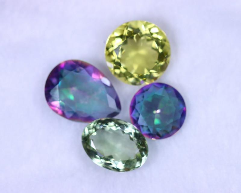 41.38cts Natural Mixed Stone Lots / MA1155