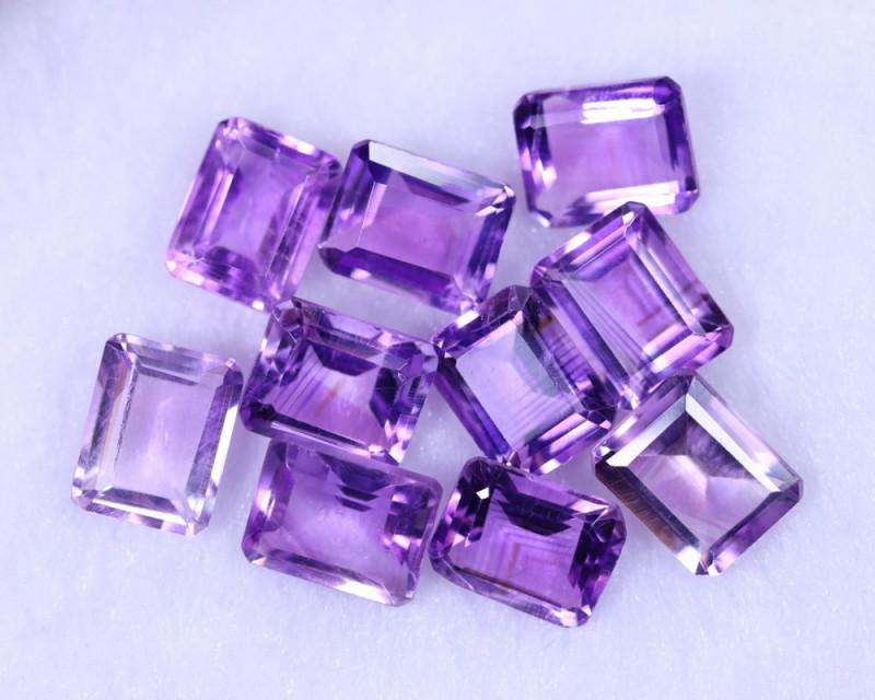 30.94cts Natural Purple Amethyst Lots / MA1157